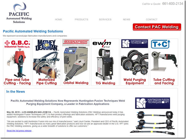 Affordable Small Business SEO Welding Machines California